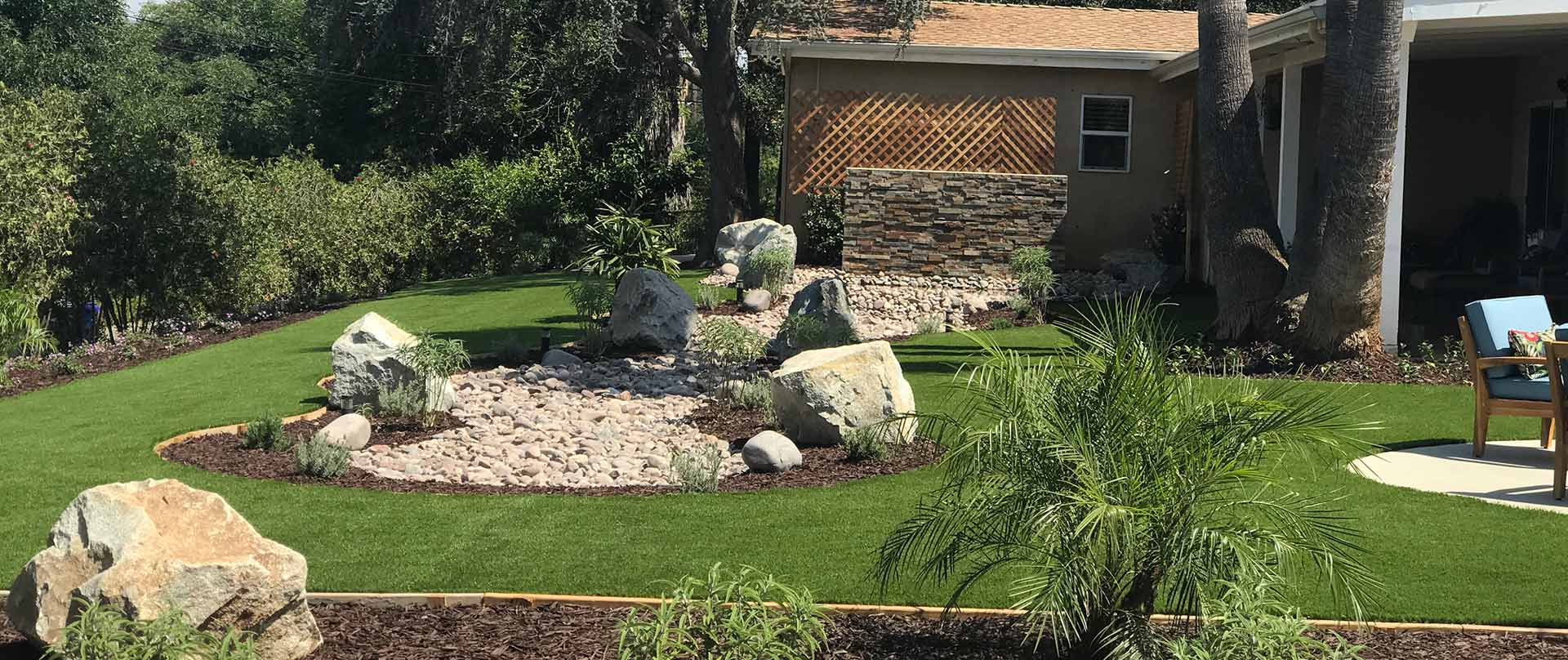 Project Case Study: Artificial Turf & Custom Water Feature in Escondido, CA