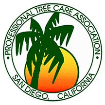 Member of the Professional Tree Care Association of San Diego, CA.
