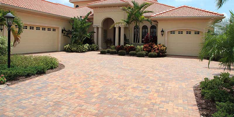 Decorative driveway installations in Encinitas, CA.